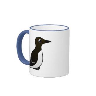 Murre común (colocación) taza de café