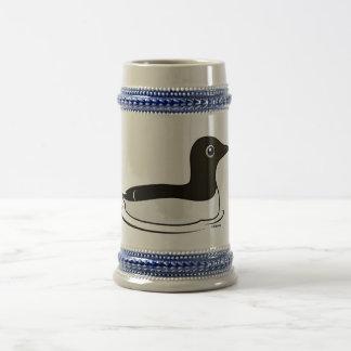Murre común (natación) jarra de cerveza