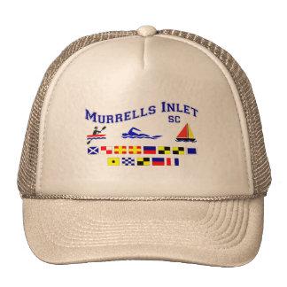 Murrells Inlet SC Signal Flags Trucker Hats
