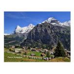 Mürren, Suiza - Schweiz Tarjeta Postal