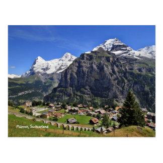 Mürren Switzerland - Schweiz Postcard