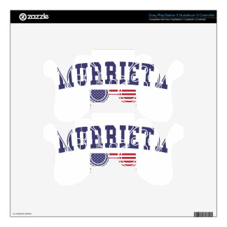 Murrieta US Flag Decal For PS3 Controller