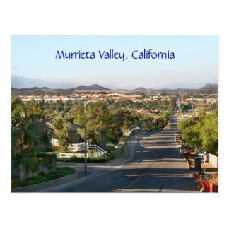 Murrieta Valley, California Postcard