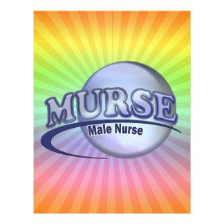 MURSE LOGO (MALE NURSE) LETTERHEAD