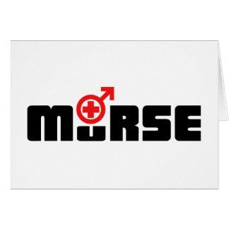 Murse logo on white card
