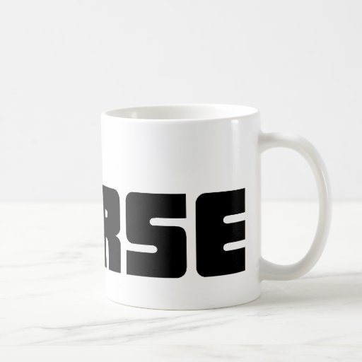 Murse logo on white mug