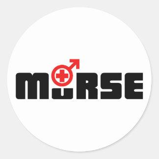 Murse logo on white sticker