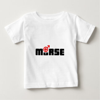Murse logo on white t shirt