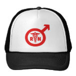 Murse Male Nurse Symbol Hat