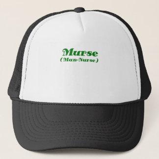 Murse Man Nurse Trucker Hat