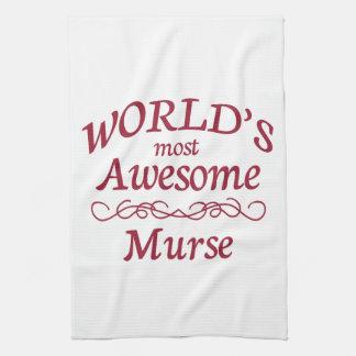 Murse más impresionante del mundo toallas