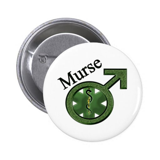 Murse with Caduceus Buttons