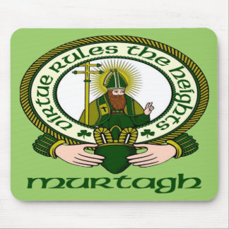 Murtagh Clan Motto Mouse Pad