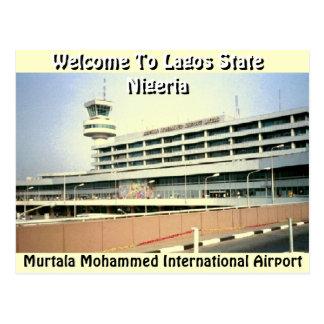 Murtala Muhammed Airport(Mojisola Gbadamosi) Postcard