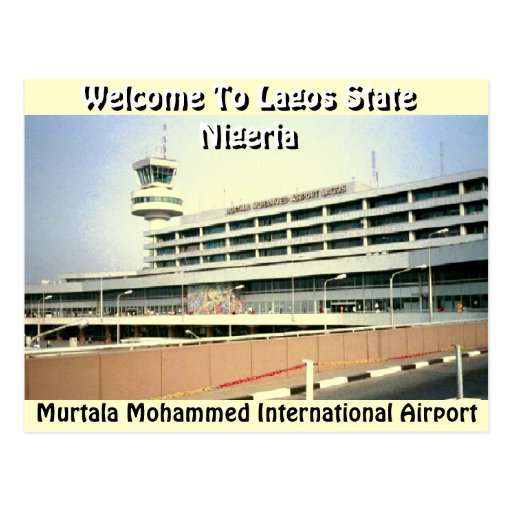 Murtala Muhammed Airport(Mojisola Gbadamosi) Post Cards
