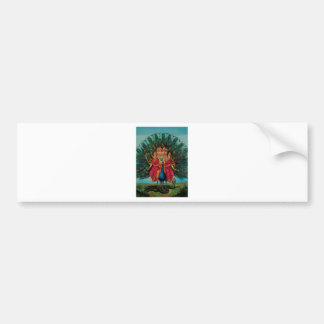 MURUGAN HINDU GOD BUMPER STICKER
