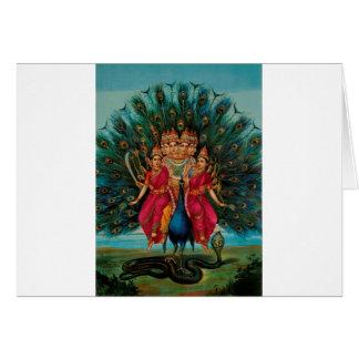 MURUGAN HINDU GOD CARD