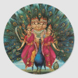Murugan Kartikeyan Skanda Subrahmanyan Hindu Deity Stickers