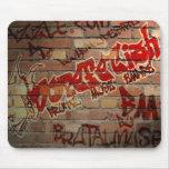 """Musa brutal """"logotipo"""" Mousepad de la pared de DF1 Tapetes De Raton"""