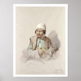 Musa - de Kashgar, c.1855 Posters