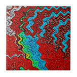 Musa del arte tejas  cerámicas