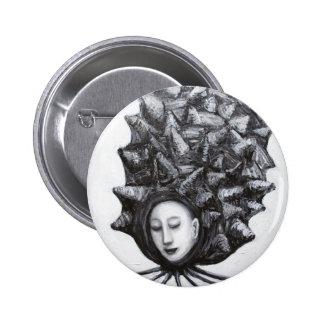 Musa en una cáscara (surrealismo) pin