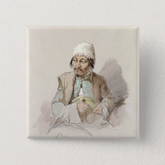 Musa - from Kashgar, c.1855 Button