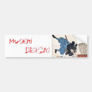 Musashi Designs Bumper Stickers