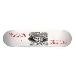 Musashi Designs Dem Bones Skateboard
