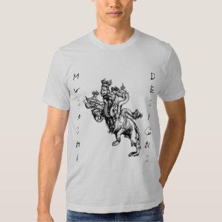 Musashi Designs Durer's Hydra T Shirt
