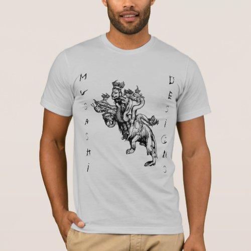 Musashi Designs Durers Hydra T_Shirt