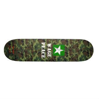 Musashi Designs Peace Skateboard