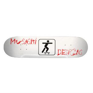 Musashi Designs Stickpusher Skateboard Deck