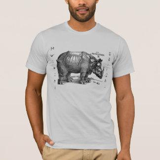 Musashi diseña rinoceronte playera