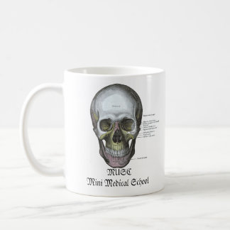 MUSC Mini Medical School Mug SKULL