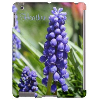 Muscari (Grape Hyacinth) iPad Case