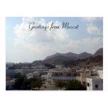 muscat greetings postcards