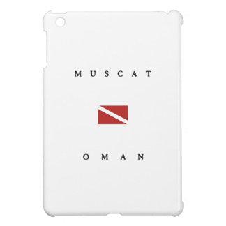 Muscat Oman Scuba Dive Flag Cover For The iPad Mini