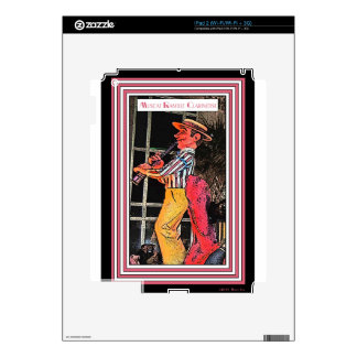 Muscat Ramble Clarinetist Decal For iPad 2