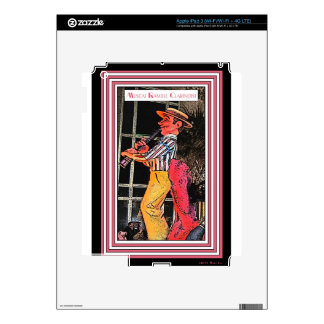 Muscat Ramble Clarinetist Decal For iPad 3