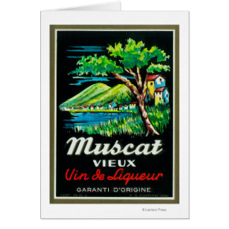 Muscat Vieux Wine LabelEurope Card
