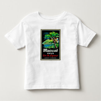 Muscat Vieux Wine LabelEurope Toddler T-shirt