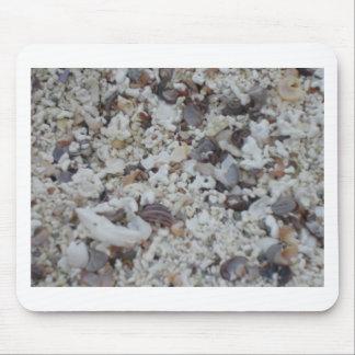 Muscheln von Strand Mouse Pad