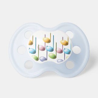 Muscial Notes Pacifier