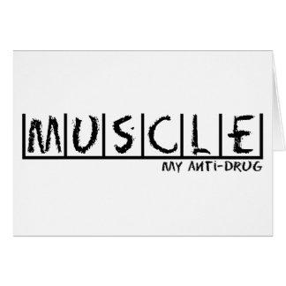Muscle Anti-Drug Card