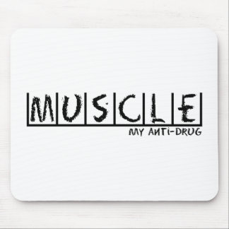 Muscle Anti-Drug Mouse Pad