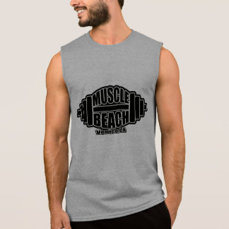 MUSCLE  BEACH SLEEVELESS TEE