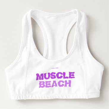 MUSCLE BEACH SPORTS BRA