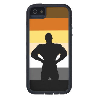 Muscle Bear Bodybuilding Bear Pride Flag iPhone 5 Cover