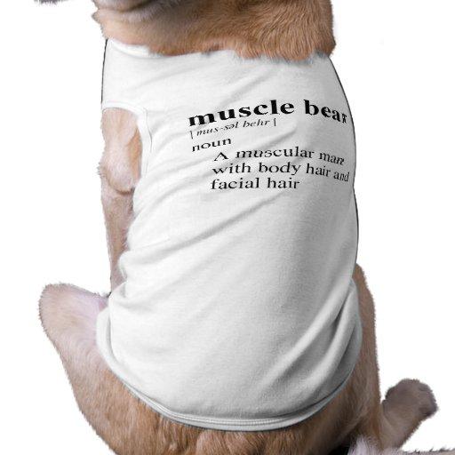 MUSCLE BEAR DOGGIE T-SHIRT